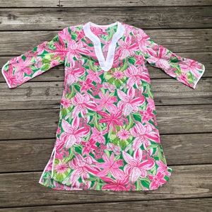 Lilly Pulitzer Sz S Daylily Dress Tunic